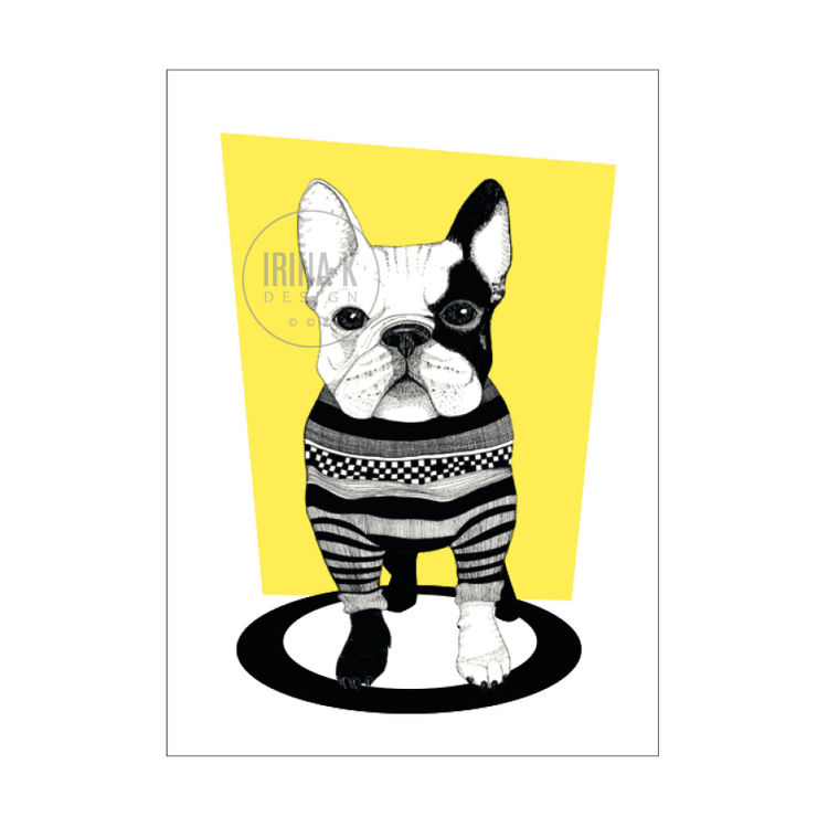Frenchie juliste